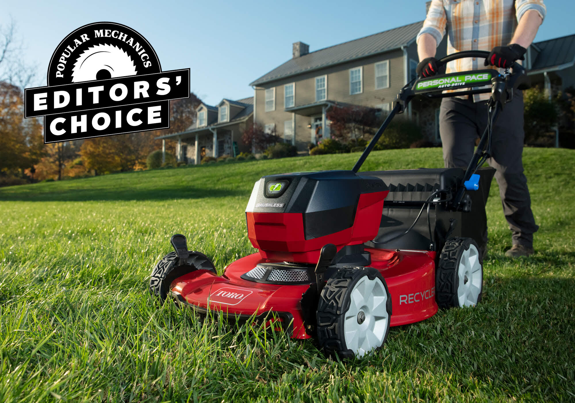 Toro's 60V Mower Won the Popular Mechanics Editors Choice