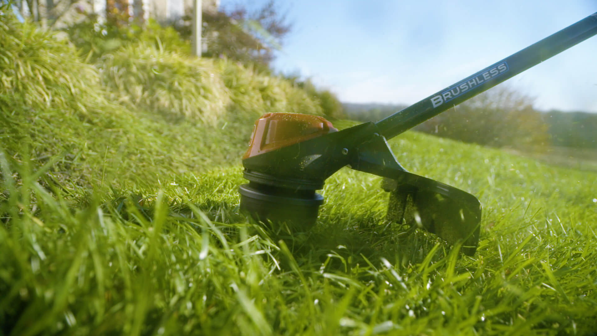 Close up of Toro String Trimmer