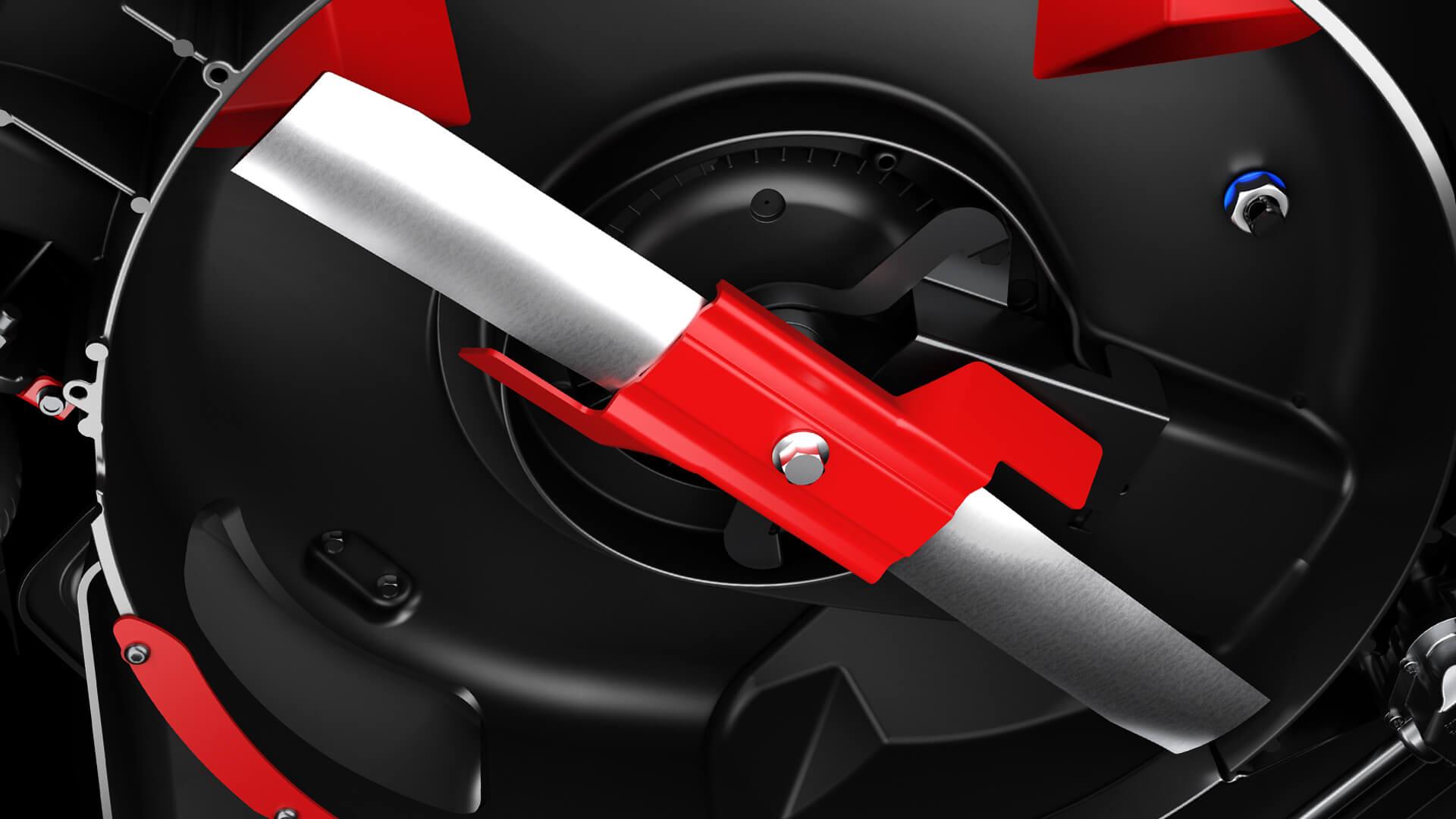 mower cutting system